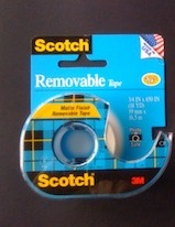 Scotch Removable Tape (NEW NAME-Wall Safe Tape)